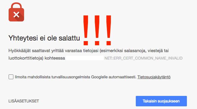 Perintäritari Seinäjoki Etelä-Pohjanmaa: blogi tietoturva