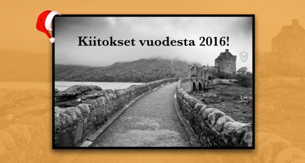 Perintäritari Seinäjoki Etelä-Pohjanmaa blogi vuosi 2016